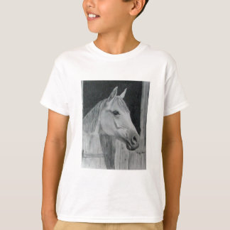 Grey Horse T-Shirt