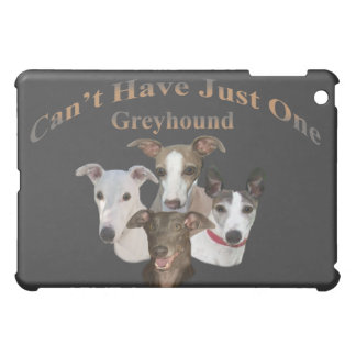 Grey Hound Can't Have Just One IPAD CASE