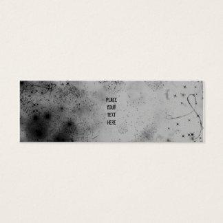 Grey in Space Skinny Profile Card