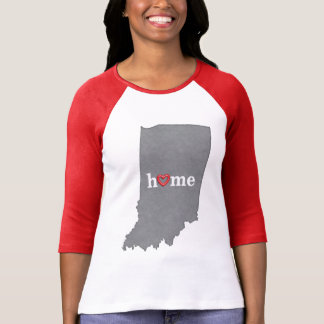 Grey INDIANA Home & Open Heart T-Shirt