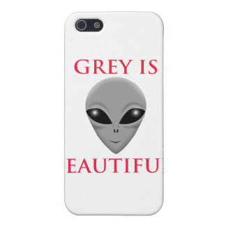 GREY IS BEAUTIFUL iPhone 5 CASE