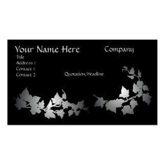 Grey Ivy Business Cards