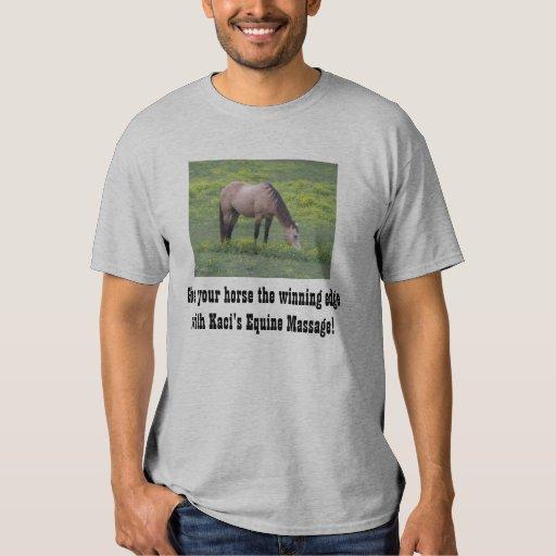 Grey Kaci's Equine Massage T-shirt