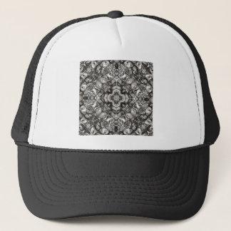 Grey Kaleidoscope Trucker Hat