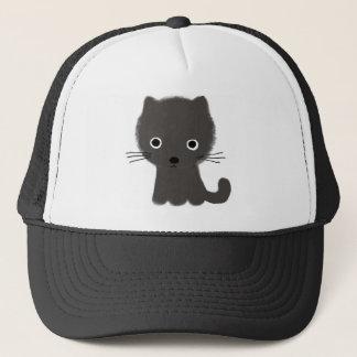 Grey Kitten Trucker Hat