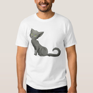 grey kitty T T-Shirt