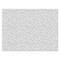 Grey Leopard Print Tissue Paper