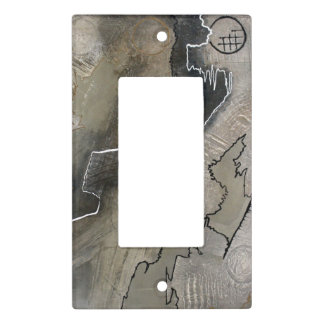 Grey Light Switch Cover