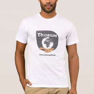 Grey Logo Thorium T-shirt