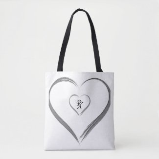 Grey Love RX Tote Bag