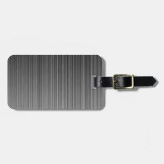 Grey Luggage Tag