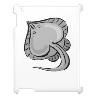 Grey Manta Ray iPad Cases