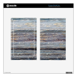 Grey marble kindle fire decal