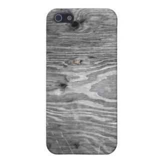 Grey Marbled Distressed Wood Protective Case