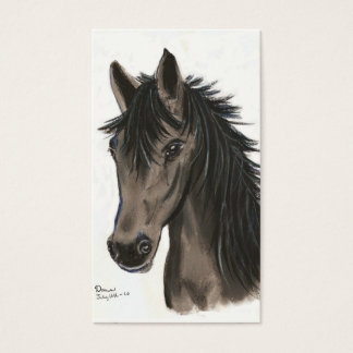 grey mare business card
