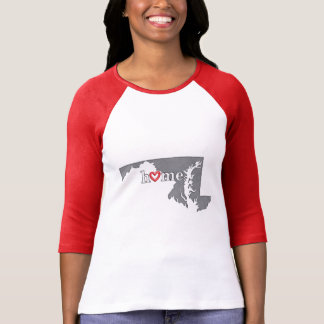 Grey MARYLAND Home & Open Heart T-Shirt