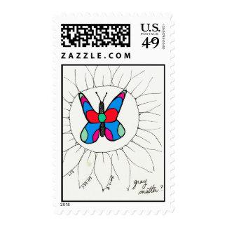 Grey Matter stamp