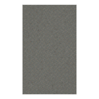 Grey Metal Diamond Plate Texture Background Poster