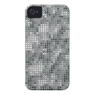 Grey Microdots Case-Mate iPhone 4 Cases