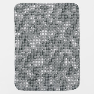 Grey Microdots Stroller Blankets
