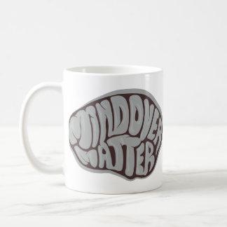 grey mind over matter mug