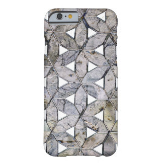 Grey mosaic barely there iPhone 6 case