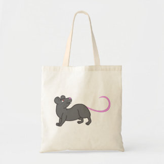 Grey Mouse Tote Bag