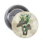 Grey Mushrooms and Flax Button