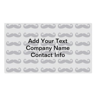Grey Mustaches Business Card