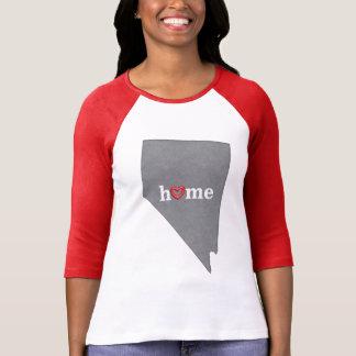 Grey NEVADA Home & Open Heart T-Shirt