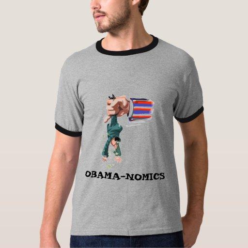 Grey OBAMA-NOMICS T-Shirt