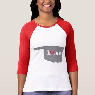 Grey OKLAHOMA Home & Open Heart T-Shirt