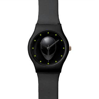 Grey on Black Wristwatch