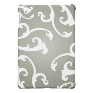 Grey Ornamental Pattern Cover For The iPad Mini