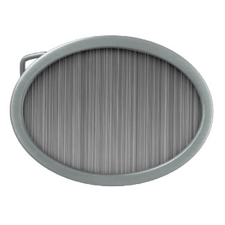 Grey Oval Belt Buckle