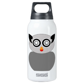 Grey owl- bird of prey 10 oz insulated SIGG thermos water bottle