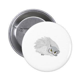 grey owl 2 inch round button
