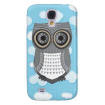 Grey Owl HTC Vivid Cases Blue Cloud