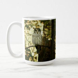 Grey Owl Painting Coffee Mug