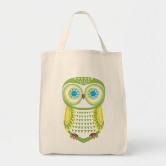Grey Owl Tote Bags