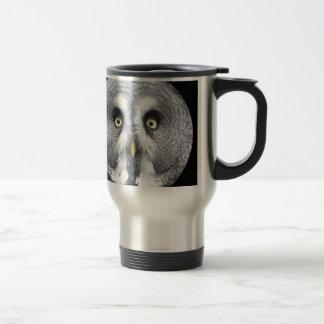 """Grey Owl"" Travel Mug"
