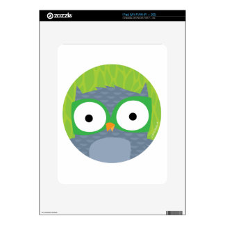 Grey Owl - Woodland Friends Skins For The iPad