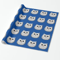 Grey Owl Wrapping Paper