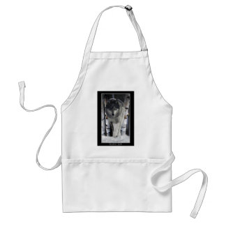 GREY PACK WOLF Collection Apron