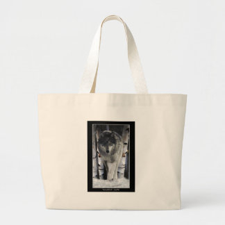GREY PACK WOLF Collection Jumbo Tote Bag