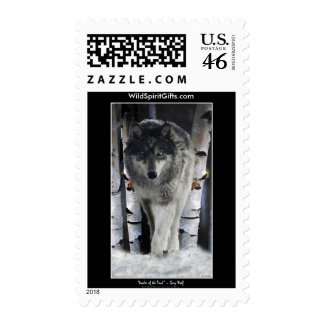 GREY PACK WOLF Collection Stamp