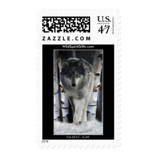 GREY PACK WOLF Collection Postage Stamp
