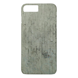 Grey Painted Brick Wall Texture Background iPhone 7 Plus Case