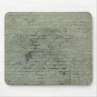 Grey Painted Brick Wall Texture Background Mousepads
