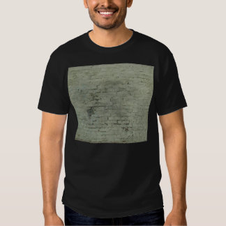 Grey Painted Brick Wall Texture Background T-shirt